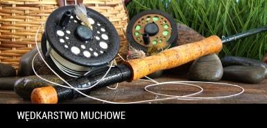 W�dkarstwo muchowe, przyn�ty muchowe, �owienie na much�, porady muchowe