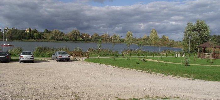 Jezioro G��boczek z pomost�w