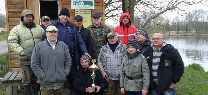 Sp³awikowe zawody o Puchar Prezesa-Bogdanka 19.04.15