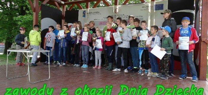 Zawody z okazji Dnia Dziecka 31.05.2015r