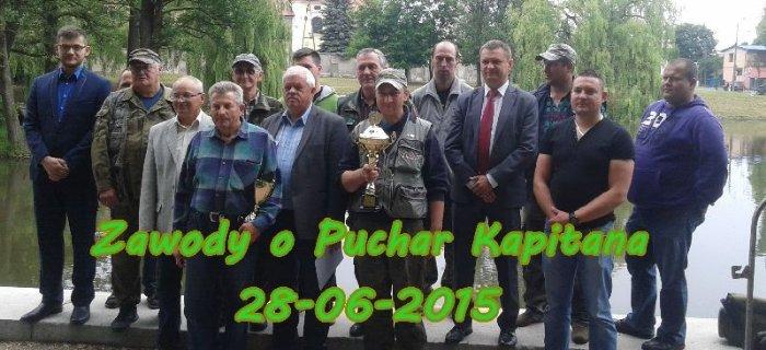 Zawody o puchar kapitana sportowego Ko³a Brzeziny 28.06.15