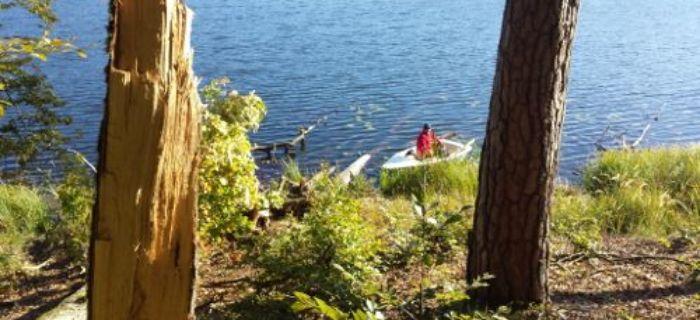 Tydzieñ czysto¶ci wód jezioro Bukowo Du¿e k.Trzcinna
