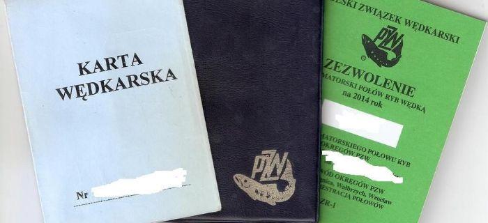 Zatrzymanie dokument�w w�dkarzowi przez stra�nika SSR