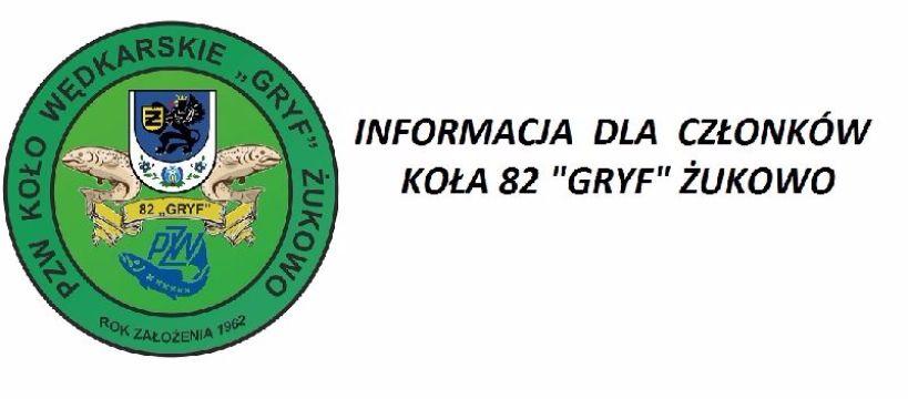 Informacja na temat Loga  PZW 82 'Gryf' �ukowo