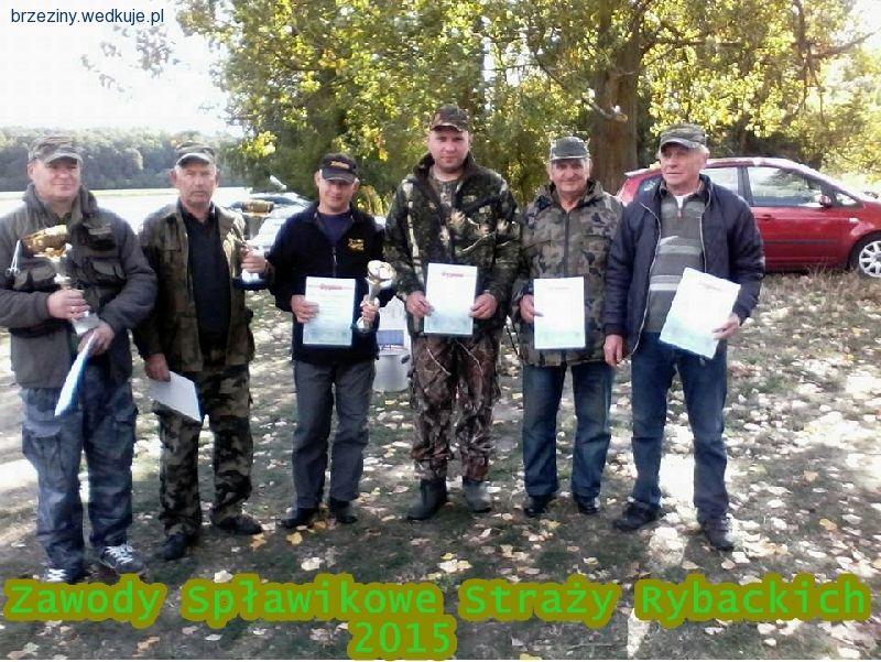Zawody Sp³awikowe Stra¿y Rybackich 2015 Skierniewice