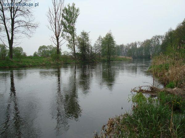 Rzeka Noteæ w okolicy ¶luzy NOWE