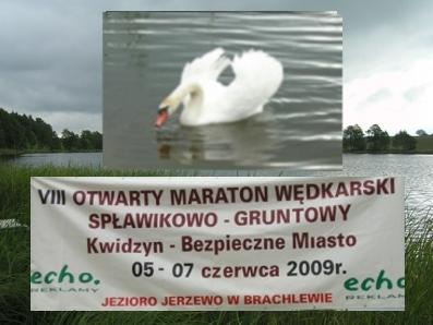 VIII OTWARTY MARATON WÊDKARSKI - KWIDZYN 2009