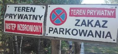 Jezioro Zelwa- wstêp wzbroniony