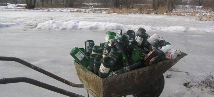 ¦mieci po zimie