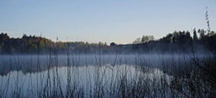 Spining - jezioro