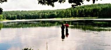 Jezioro Poplusz Wielki