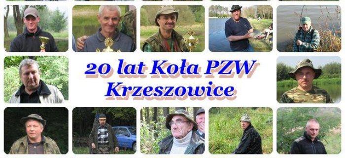 20 lat minê³o - historia Ko³a PZW Krzeszowice