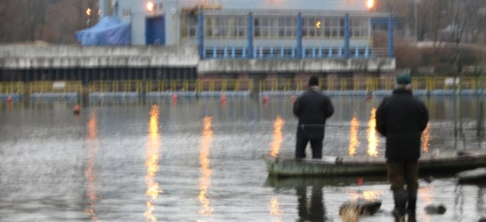 Wis�a nr 5 / P�ock - zakaz po�owu w zatoce ORLEN SA