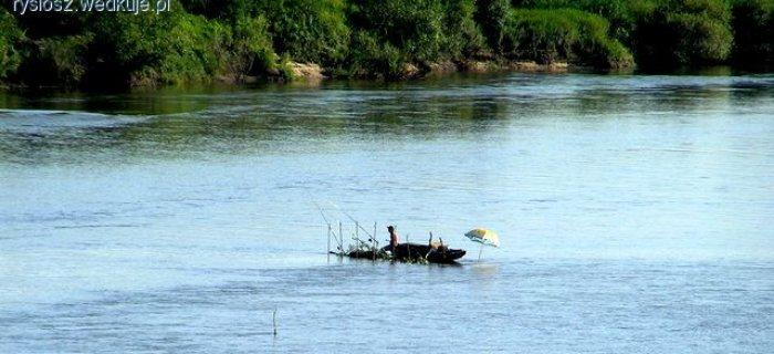 Przykosa w wiêkszych rzekach - jak j± rozpoznaæ i j ob³awiaæ?