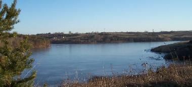 Zbiornik retencyjny Wióry - gmina Kunów