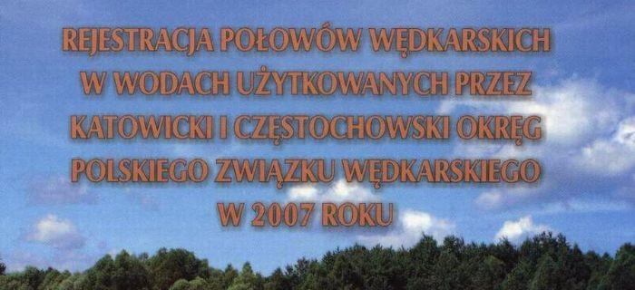 Statystyki z rejestr�w po�owu ryb 2007