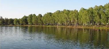 Jezioro Zag³êbocze, Pojezierze £êczyñsko W³odawskie.