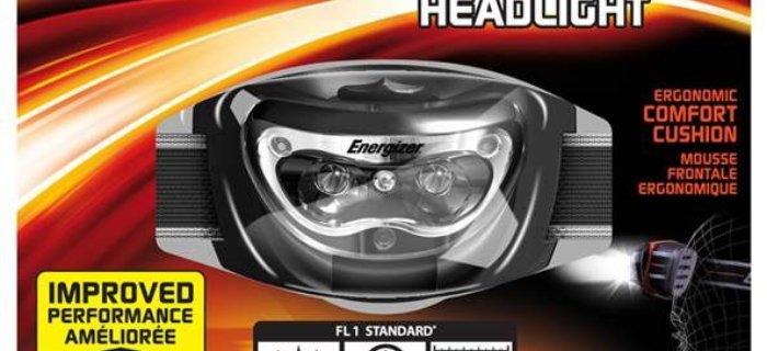 Energizer Headlight 3LED w akcji