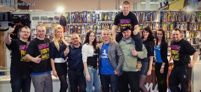 Tim Pleciona, Roxola, Jkarp - blogerzy wedkuje.pl na targach Rybomania