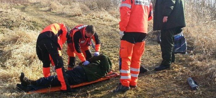 Stra�nicy udzielili pierwszej pomocy