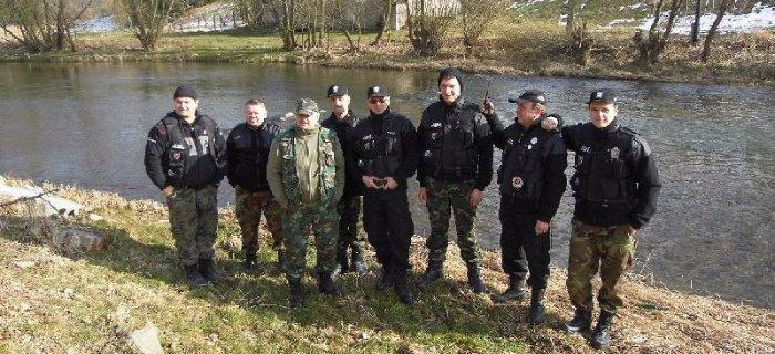 Patrol w�d i szkolenie