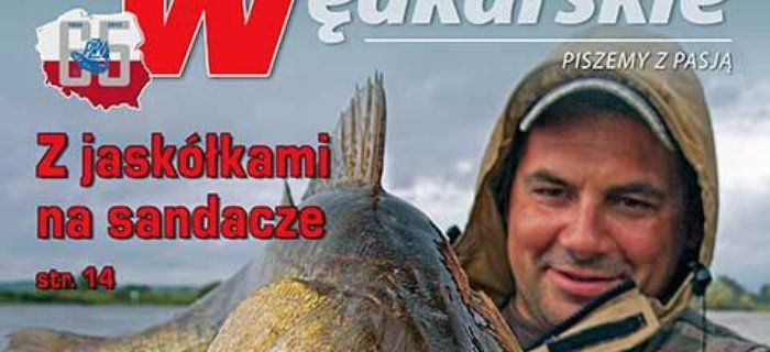 """Ukaza³ siê czerwcowy (6'2015) numer """"Wiadomo¶ci Wêdkarskich"""""""