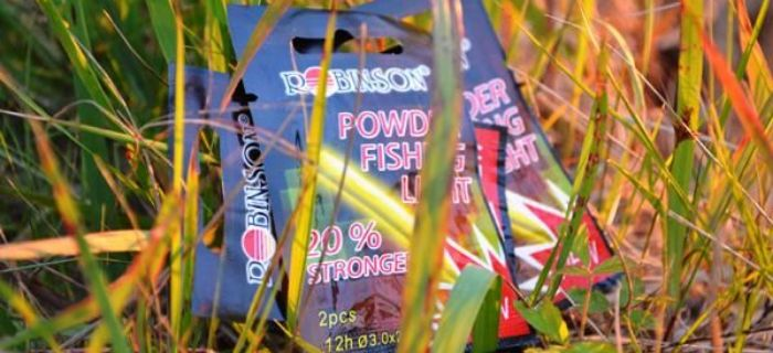 W�dkarskie �wiecide�ka - Robinson Powder Fishing Light