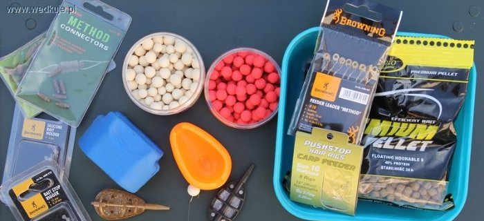Wyb�r akcesori�w do method feeder