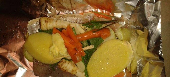Ryby w warzywach