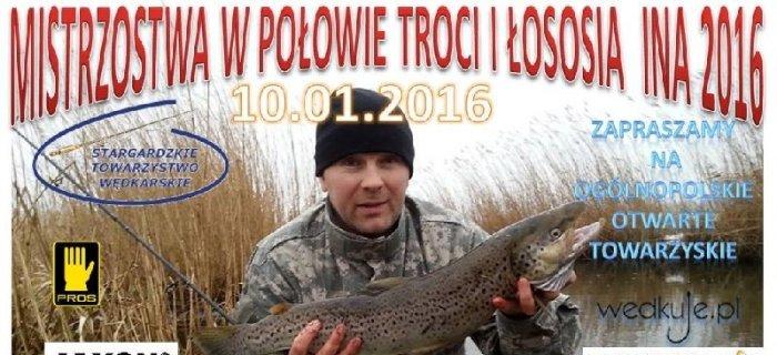 Mistrzostwa w Po�owie Troci i �ososia INA 2016