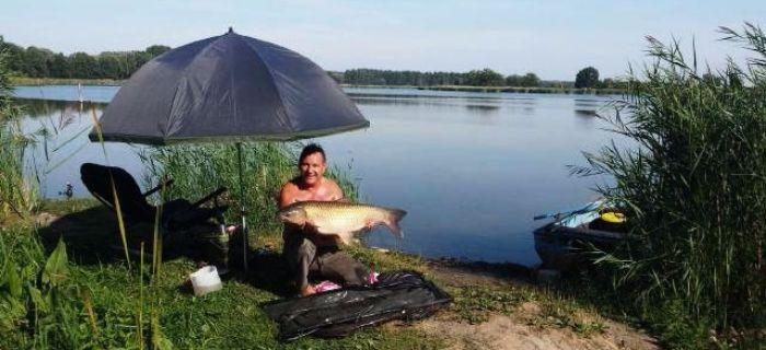 Jezioro Kierskie Ma�e - Gospodarstwo Rybackie Leszek Szwiec