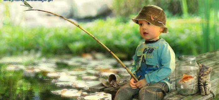 Zawody w�dkarskie z okazji Dnia Dziecka