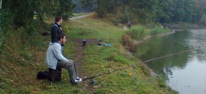 W�dkarska wyprawa - Jedna ryba a trzech Kamrat�w