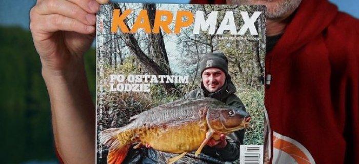 To ju¿ 15 rok Karp Maxa. Najnowszy numer 2/2017 ju¿ w sprzeda¿y