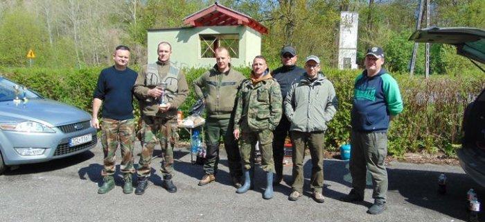 """Zawody spinningowe Ko³a """" Okoñ """" w Goleniowie.2017-05-07"""