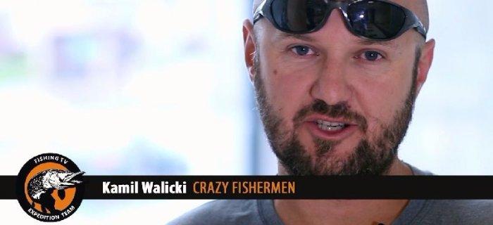 Czemu siê ubezpieczyæ - radzi Kamil Walicki Crazy Fishermen