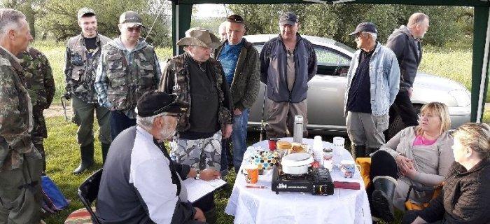 Zawody spinningowe Piasek 2017