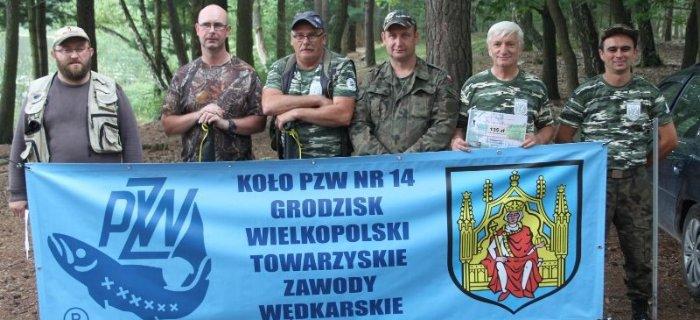 Zawody nad jeziorem Brajec - Ko³o PZW Nr.14 Grodzisk Wlkp.