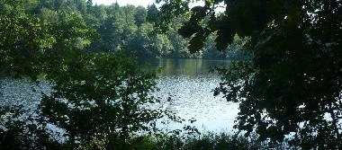 Jezioro £obez-Bia³y Bór.