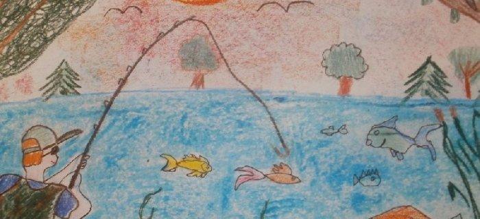 """Konkurs plastyczny i literacki """"Wêdk± czystym wodom cze¶æ"""""""