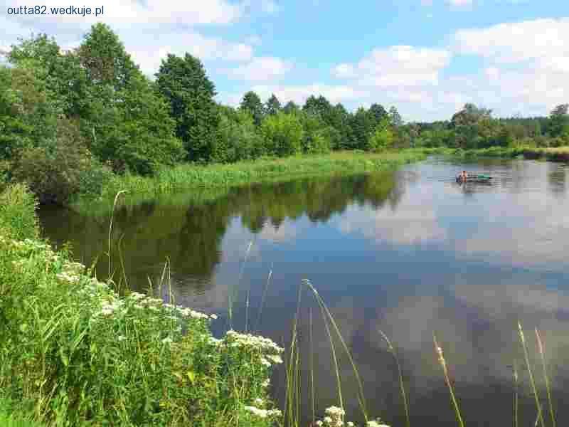 Nauka czytania wody w rzece - pomocy