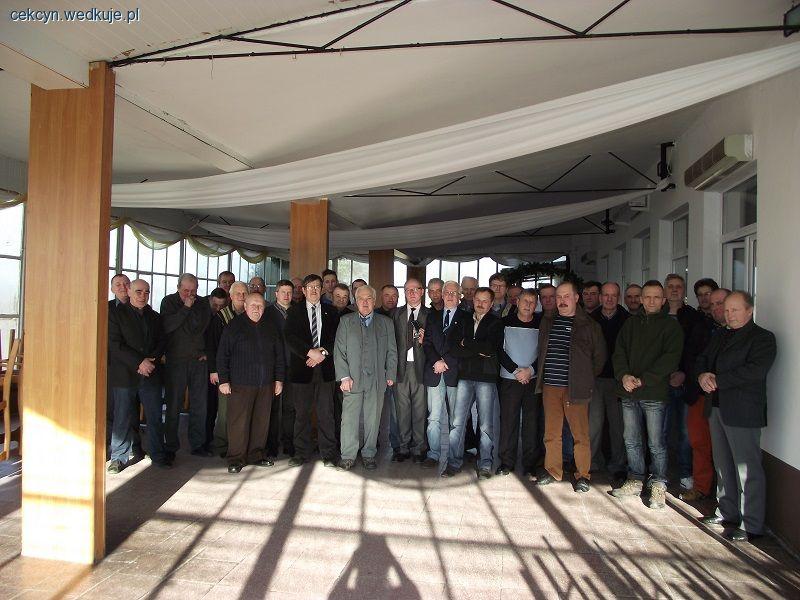Walne zebranie sprawozdawcze ko�a PZW nr 76 w Cekcynie