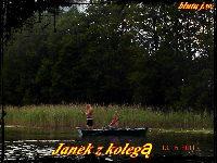Popo³udnie na jeziorze Chmiel Du¿y 13.06.2011