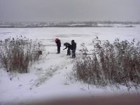 Zimowe wêdkowanie - nie tylko na lodzie
