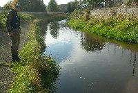 Rzeka Bóbr powiat Kamienna Góra