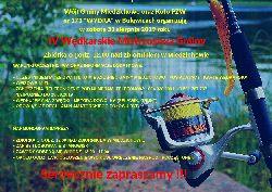 Og³oszenie o IV Wêdkarskich Mistrzostwach Gminy Miedzichowo