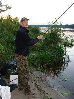 Wêdkarstwo gruntowe - zaciêcie i hol ryby