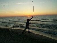 Morze Ba�tyckie - Ko�obrzeg - Surfcasting - W�dkarstwo pla�owe