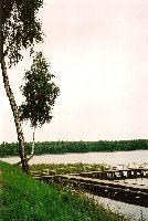 Jezioro Czarne ko�o Mr�gowa