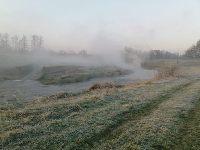 Rzeka Kaczawa w okolicach Prochowic